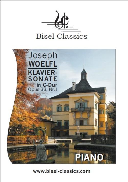 Product picture Klaviersonate in C-Dur, Opus 33 Nr.1