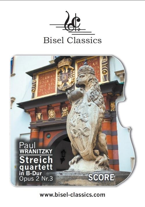 Product picture Streichquartett in B-Dur, Opus 2 Nr.3